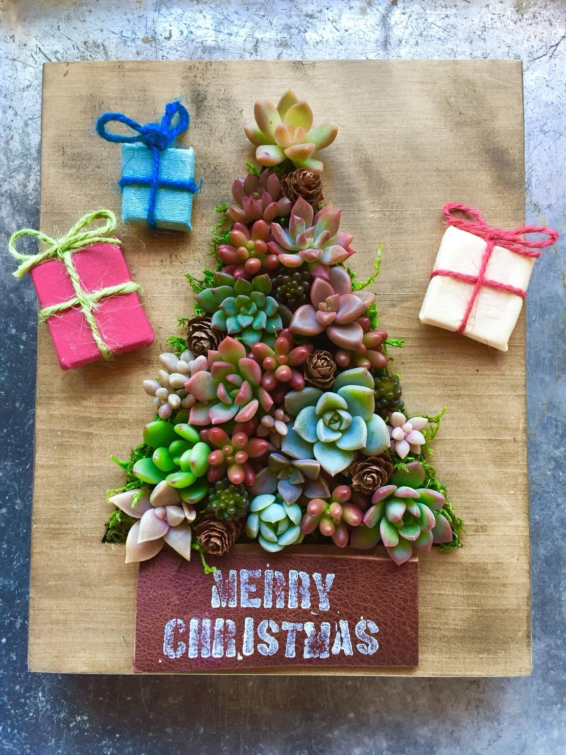 クリスマスツリープレート