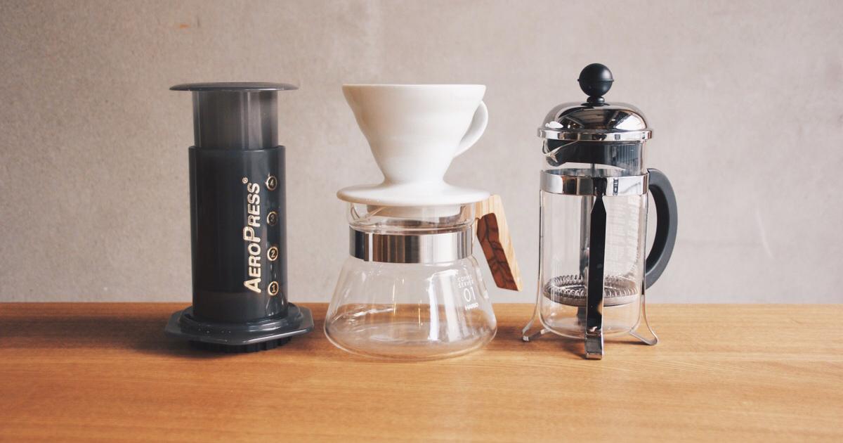 COFFEE WORKSHOP 〜いろいろなコーヒーの淹れ方〜