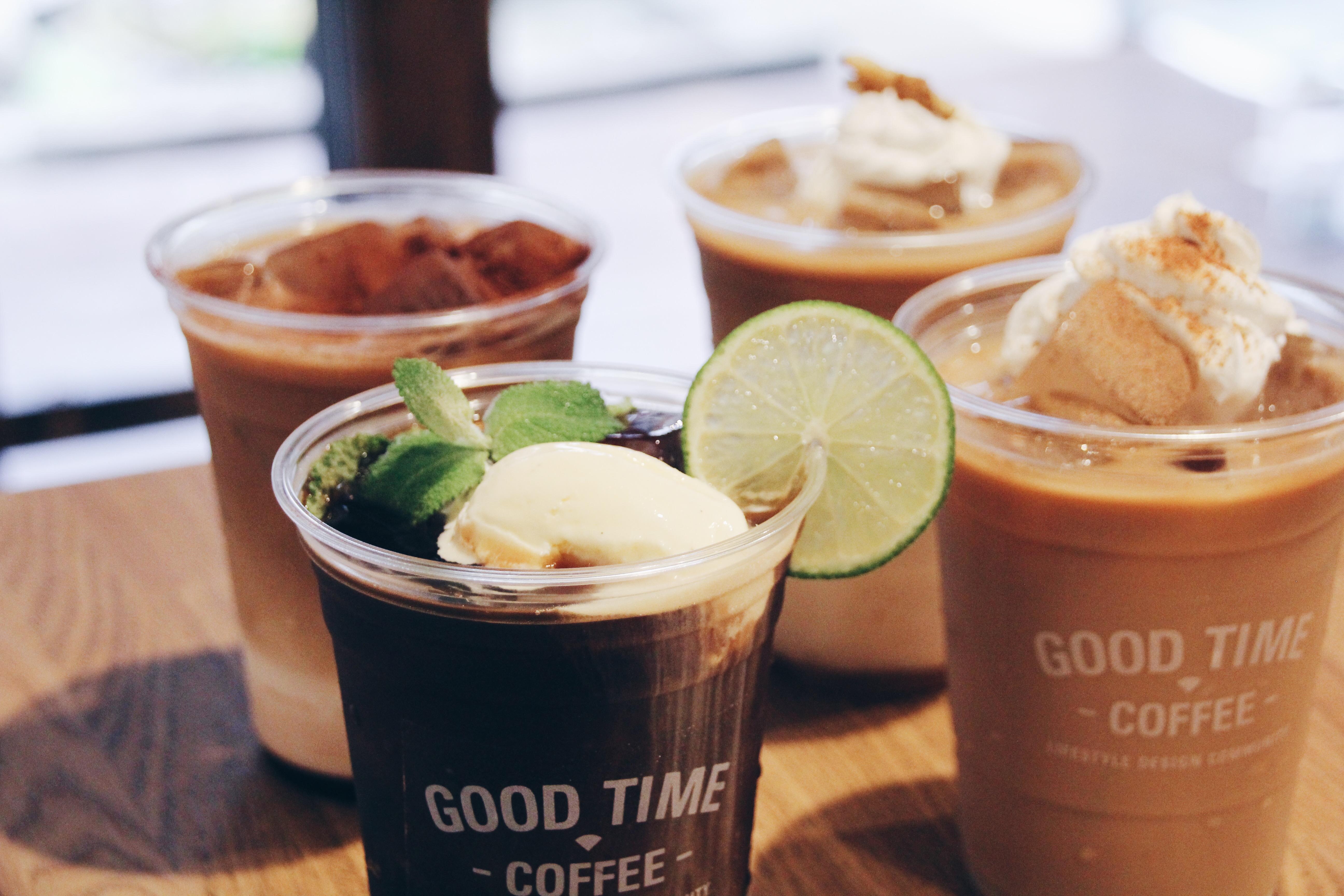 GOOD TIME COFFEE WORKSHOP 〜アイスコーヒーで作るアレンジレシピ〜